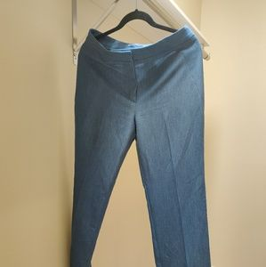 Denim blue Tahari slacks size 6